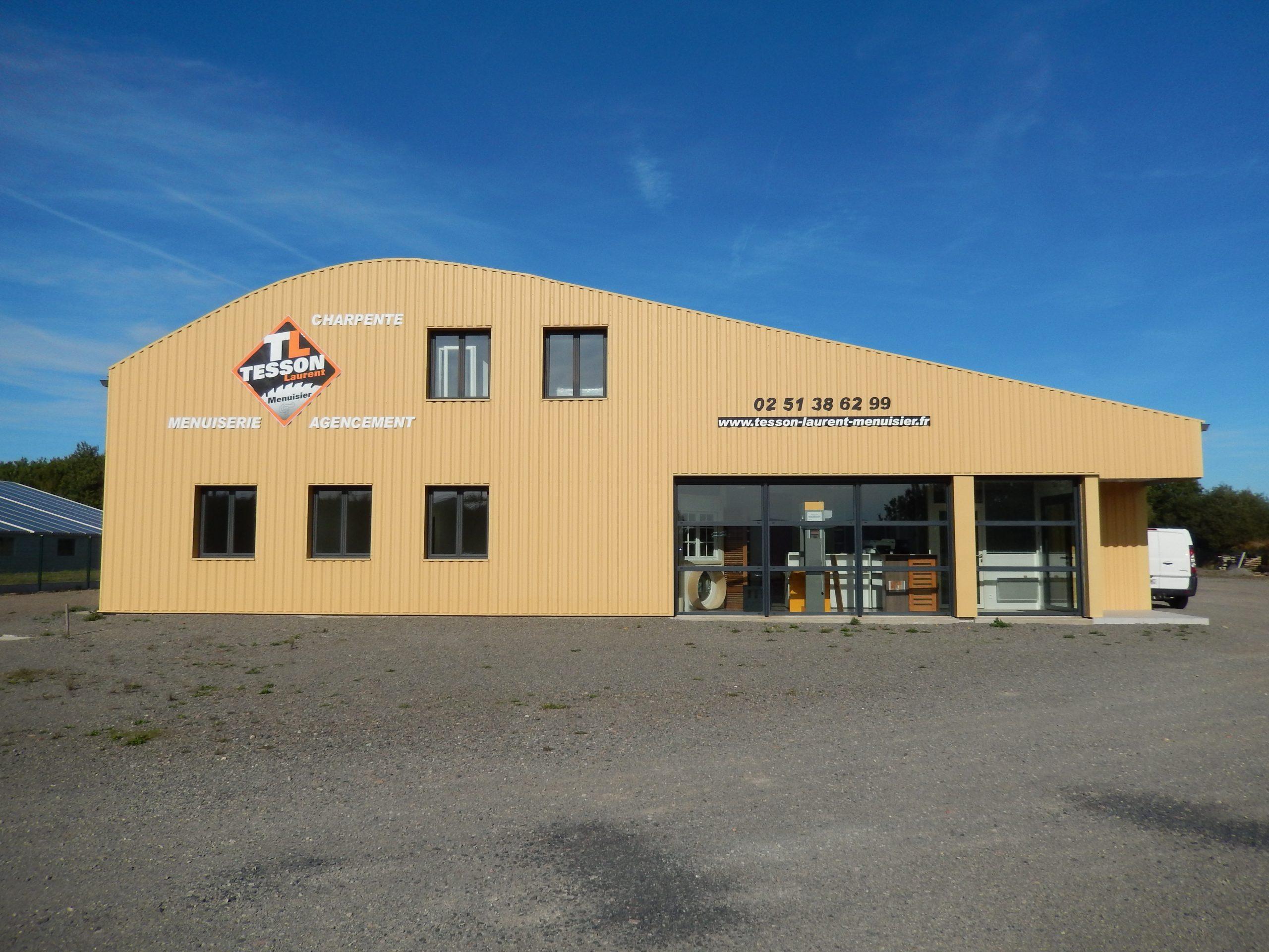 Tesson Laurent, menuisier et charpentier à Saint Julien des Landes en Vendée 85150